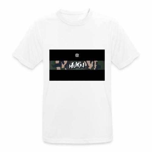 HuKKi - Männer T-Shirt atmungsaktiv