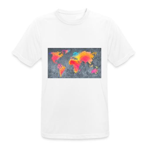 World 3 - Männer T-Shirt atmungsaktiv