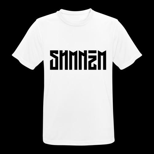 SHMNzM Basic - Maglietta da uomo traspirante