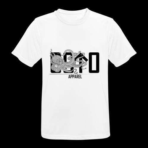 OctoApparel Logo schwarz - Männer T-Shirt atmungsaktiv