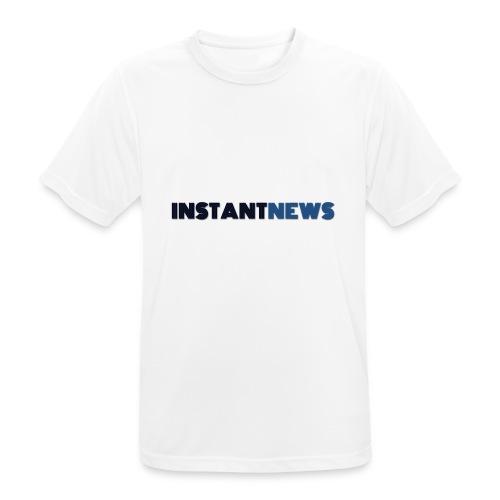 instantnews - Maglietta da uomo traspirante