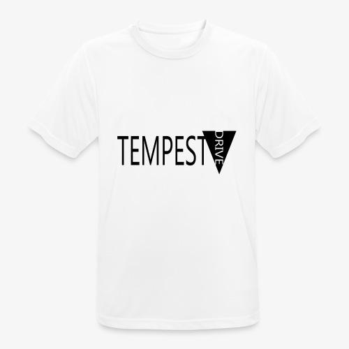Tempest Drive: Full Logo - Herre T-shirt svedtransporterende
