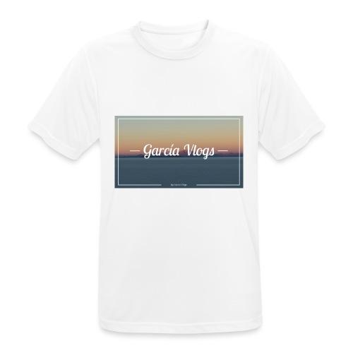 Garcíavlogs - Camiseta hombre transpirable