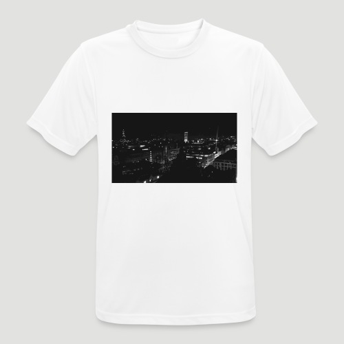 Londres night city - Camiseta hombre transpirable