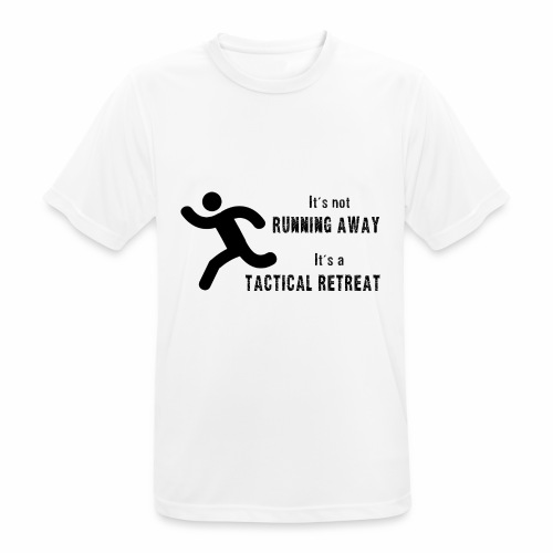 Tactical Retreat - Men's Breathable T-Shirt