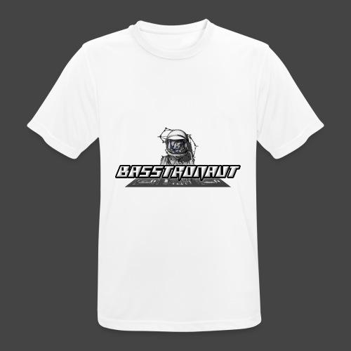 Bassphemie - Basstronaut Logo - Männer T-Shirt atmungsaktiv