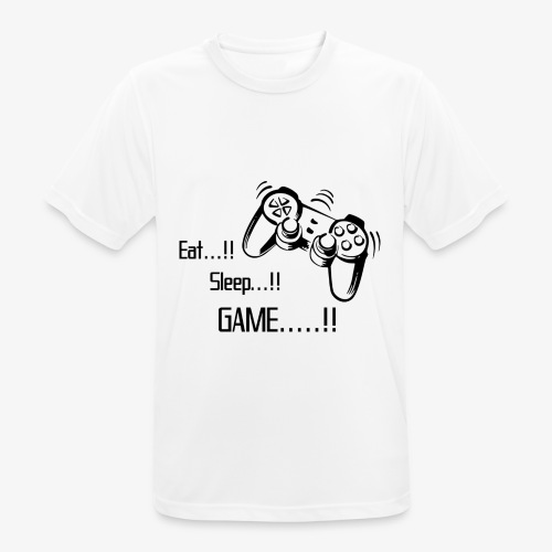eat sleep game joy pad - Men's Breathable T-Shirt