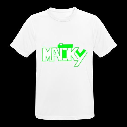 MaickyTv Grün - Männer T-Shirt atmungsaktiv