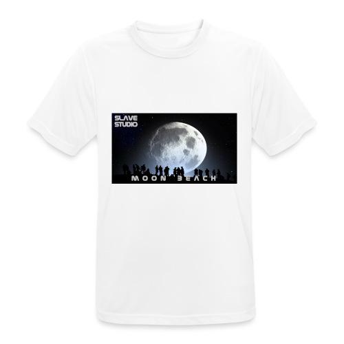 Moon beach - Maglietta da uomo traspirante