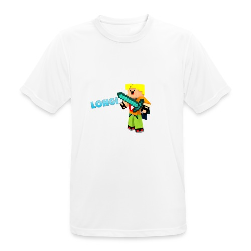 Kämpfender Longi Shirts - Männer T-Shirt atmungsaktiv