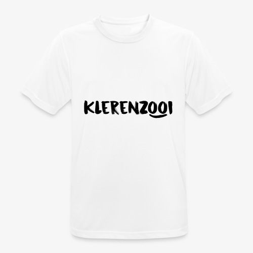 Klerenzooi witte collectie mannen - mannen T-shirt ademend