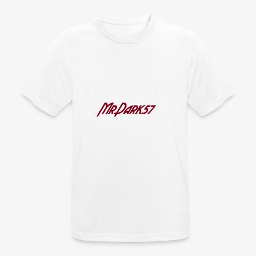 MrDark57 - T-shirt respirant Homme