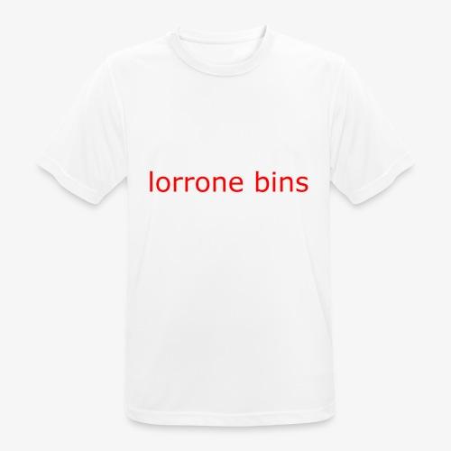 lorrone bins simple - Men's Breathable T-Shirt