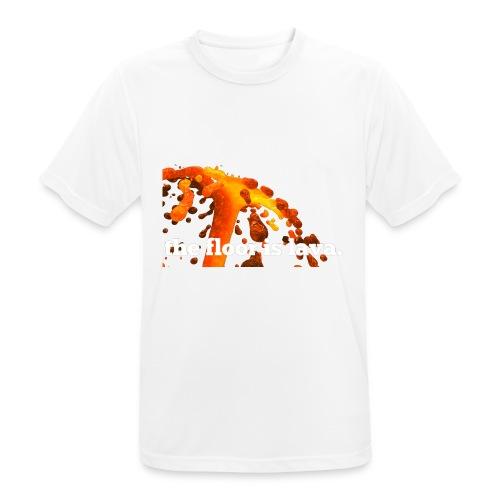 the floor is lava - Männer T-Shirt atmungsaktiv