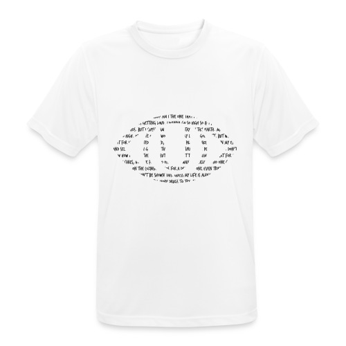 LIRISMO BLACK - Men's Breathable T-Shirt