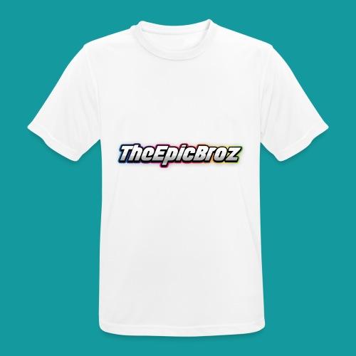 TheEpicBroz - Mannen T-shirt ademend actief