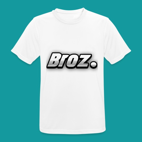 Broz. - mannen T-shirt ademend