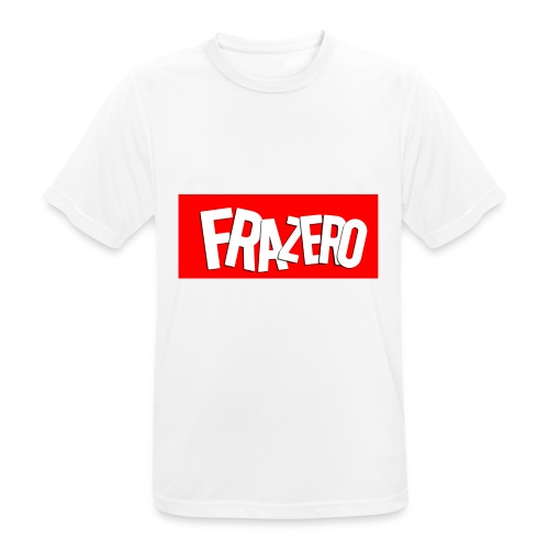 FRAZERO RED BOX DESIGN - Men's Breathable T-Shirt