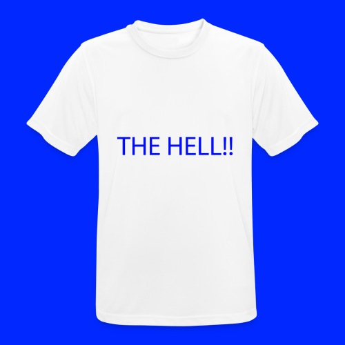THE HELL!! - Andningsaktiv T-shirt herr