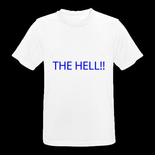 THE HELL!! - Andningsaktiv T-shirt herr