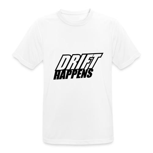 Drift Happens - Männer T-Shirt atmungsaktiv