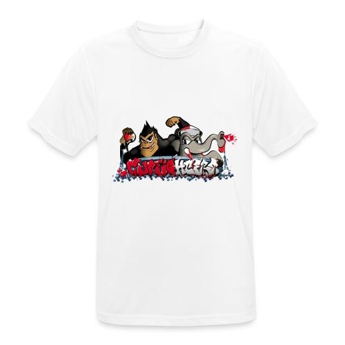 Cupfighters Rotterdam - Mannen T-shirt ademend