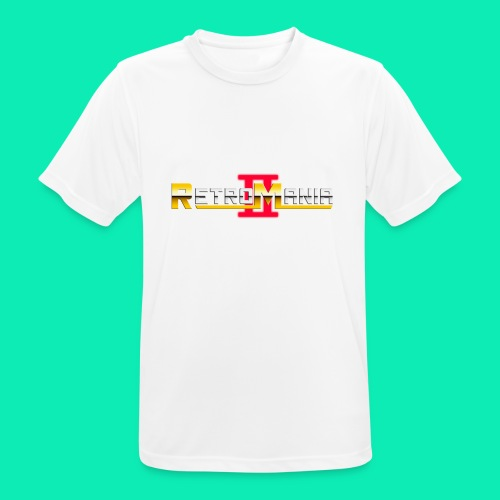 Retro Mania II - Logo - Männer T-Shirt atmungsaktiv