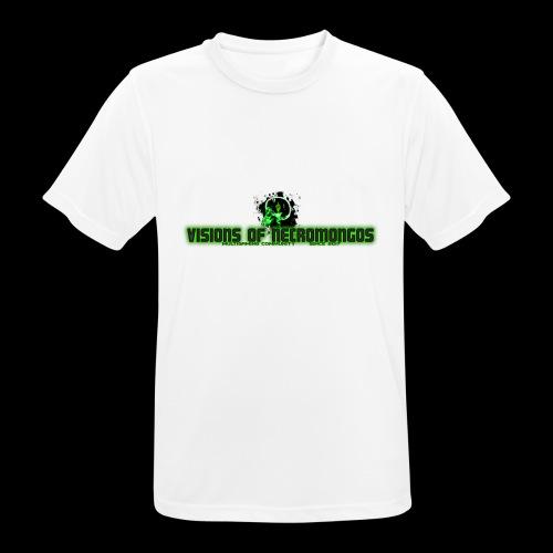 Necromongo Logo ONE - Männer T-Shirt atmungsaktiv