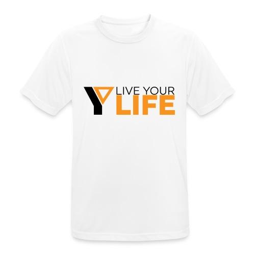 Original LiveYourLife - Männer T-Shirt atmungsaktiv