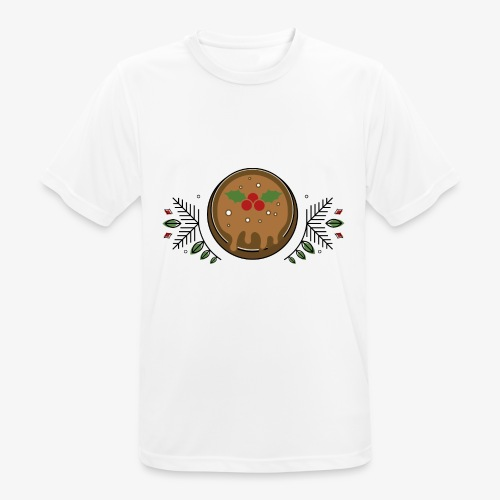 CHRISTMAS PUDDING - Men's Breathable T-Shirt