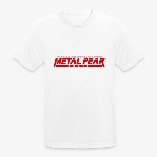 Metal Pear Solid: Tactical Greengrocer Action - Men's Breathable T-Shirt