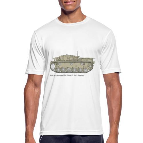 Stug III Ausf D. - Männer T-Shirt atmungsaktiv
