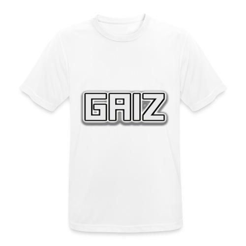 GAIZ-SENZA COLORE-BIANCO - Maglietta da uomo traspirante