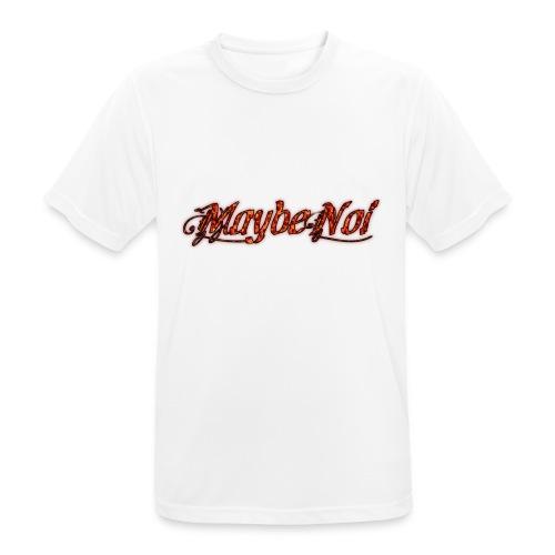 Premium Fire Logo - Männer T-Shirt atmungsaktiv