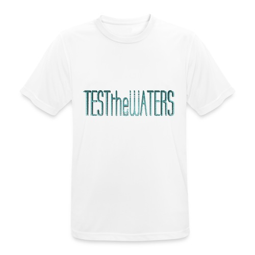 TESTtheWATERS BETA BLUE - Men's Breathable T-Shirt