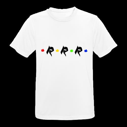 RRR - rainbow. - Männer T-Shirt atmungsaktiv