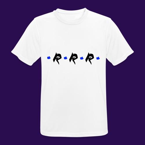 Blue Logo - Männer T-Shirt atmungsaktiv