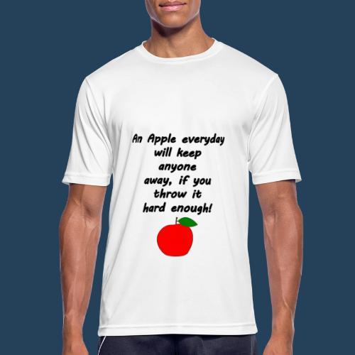 Apple Doctor - Männer T-Shirt atmungsaktiv