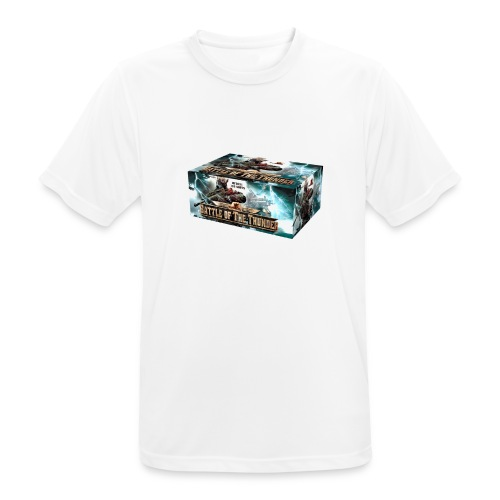 Battle of the Thunder - Männer T-Shirt atmungsaktiv
