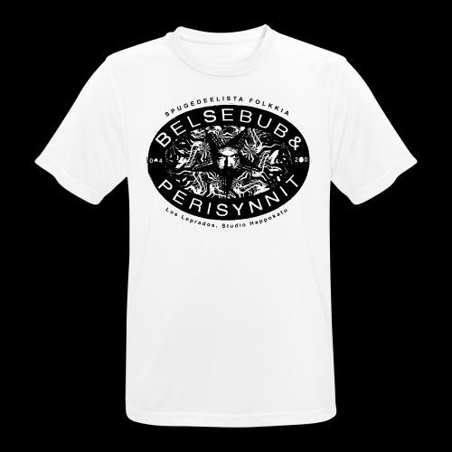 Belsebub&Perisynnit - miesten tekninen t-paita