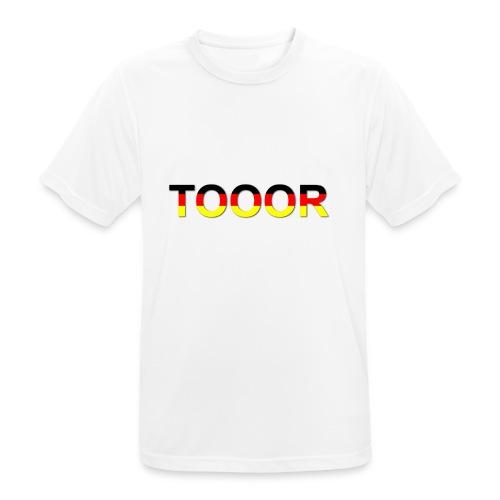 TOOOR-Schatten-transparen - Männer T-Shirt atmungsaktiv