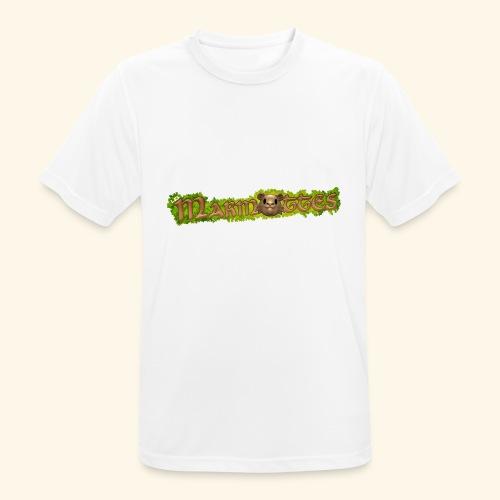 marmottes logo HD - T-shirt respirant Homme