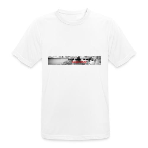 Gang. Gang. Grrruu. - Männer T-Shirt atmungsaktiv