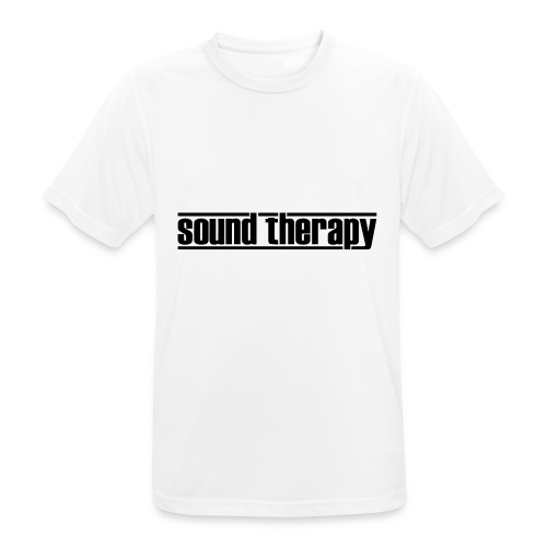 Sound Therapy (black) - Andningsaktiv T-shirt herr