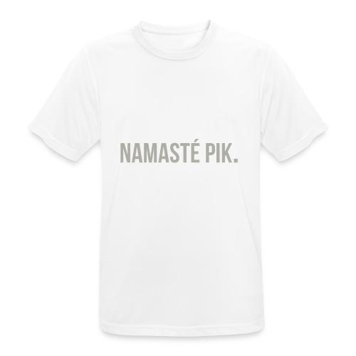 Namasté pik. - mannen - Mannen T-shirt ademend actief