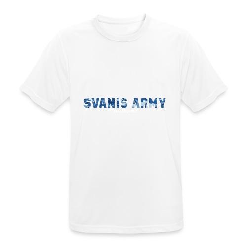 SVANIS ARMY, SWEDISHGAMING - Andningsaktiv T-shirt herr