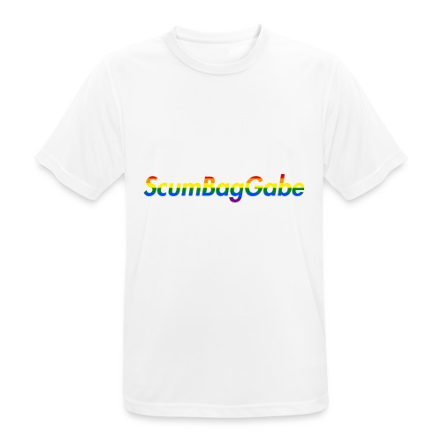 ScumBagGabe Multi Logo XL - Men's Breathable T-Shirt
