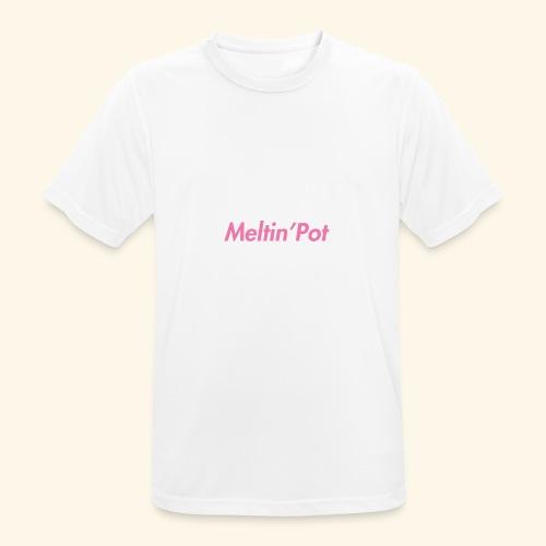 Meltin'Pot - Maglietta da uomo traspirante