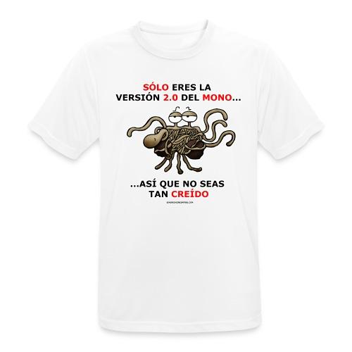 Camiseta hombre versión 2.0 del mono - Camiseta hombre transpirable