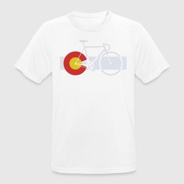 Bike Colorado - Men's Breathable T-Shirt